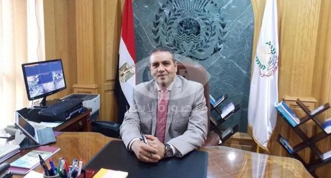 رئيس جامعة المنصورة يهنىء عبية لفوزه بجائزة خليفة في البحث العلمي