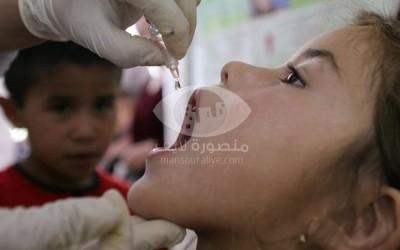 31 اكتوبر بدء حملة تطعيم الاطفال ضد الحصبة والحصبة الألمانى