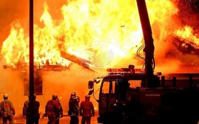 الحماية المدنية بالدقهلية تسيطر على حريق بمزرعة دواجن بمركز أجا