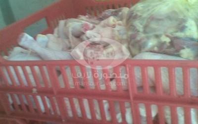 ضبط 2,8 طن لحوم ودهن حيوانى غير صالحة للاستهلاك الادمى بمدينة المنصورة