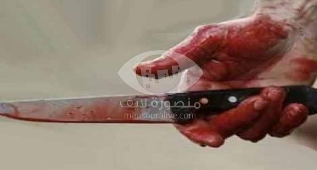 مصرع طفلة على يد نجل عمها بمركز أجا