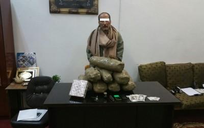 مخدرات الدقهلية تضبط هارب من 48 سنة سجن بحوزته بانجو وافيون وترامادول
