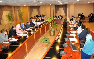 مجلس جامعة المنصورة يوافق على تخصيص ارض لانشاء جامعة المنصورة الاهلية بجمصة