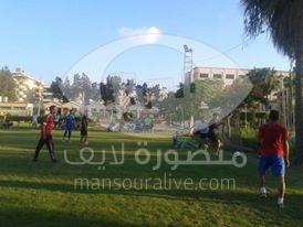 تفعيل الانشطة الصيفية لطلاب جامعة المنصورة بمعسكر الطلاب الدائم بجمصة