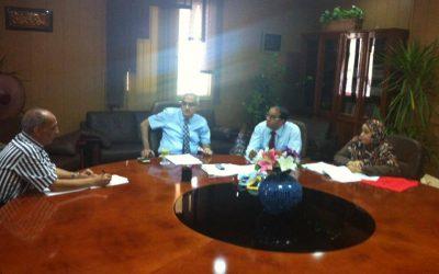 إستعدادات جامعة المنصورة لإستقبال طلاب المدن الجامعية للعام الدراسى الجديد 2016 – 2017