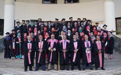تخرج الدفعة 33 بكلية طب الأسنان جامعة المنصورة