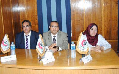 مستشفى الباطنة بجامعة المنصورة تحتفل بتجديد شهادة الجودة للعام الثانى