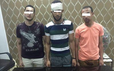 القبض على 3 اشخاص بالمنصورة لحيازتهم اسلحة نارية وبيضاء