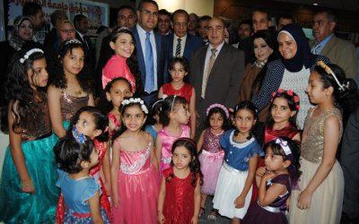 جامعة المنصورة تستضيف المهرجان التعريفى للطلاب الوافدين
