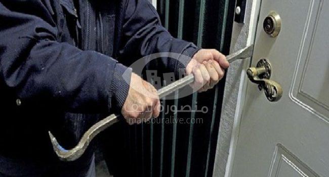 سرقة محتويات مبنى هيئة الابنية التعليمية بميت غمر