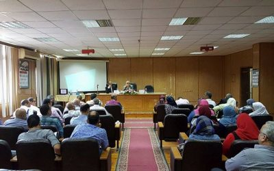 نائب رئيس جامعة المنصورة يبحث اقامة مهرجان الانشطة الطلابية بالجامعة