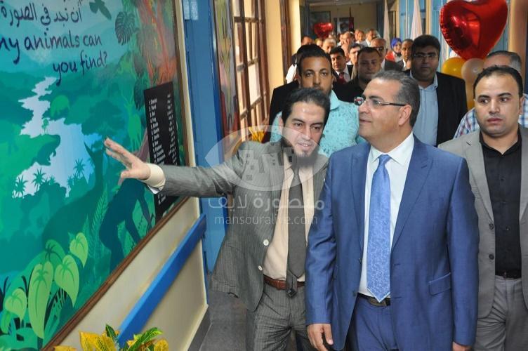 افتتاح وحدتى الامراض المعدية و الجهاز الهضمي والكبد بمستشفى الأطفال بجامعة المنصورة