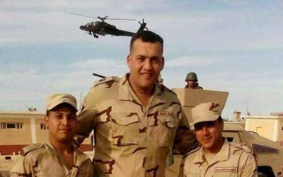 تشييع جنازة الرائد احمد ابو النجا بمسقط رأسه بمركز المنصورة