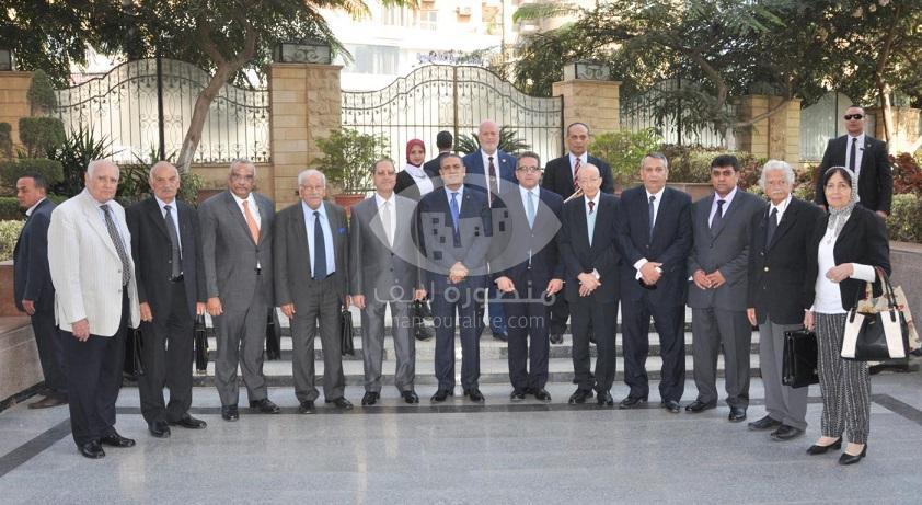 افتتاح فعاليات المؤتمر التاسع عشر للاثاريين العرب بجامعة المنصورة