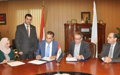 جامعة المنصورة توقع بروتوكولا للتعاون مع جامعة مان بفرنسا لمنح درجة الدكتوراه