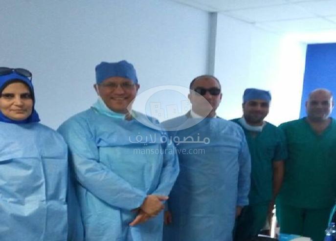 تسيير قافلة جراحية الى مستشفى المطرية المركزى