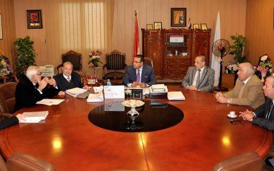 الانتهاء من اعداد ملف انشاء جامعة المنصورة الأهلية بمدينة جمصة