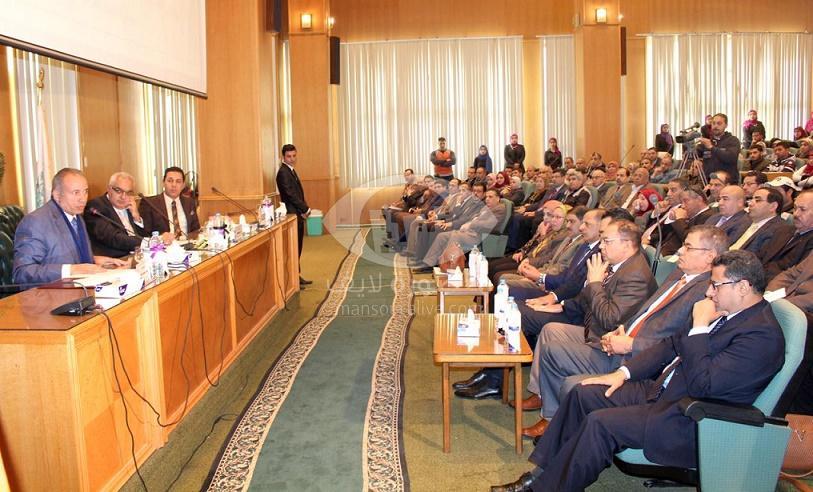 افتتاح فعاليات أسبوع مكافحة الفساد بجامعة المنصورة