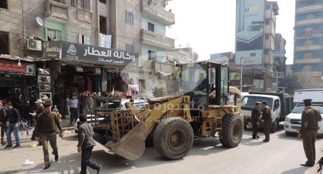 شرطة مرافق الدقهلية تزيل 168 اشغالا وتضبط 101 مخالفة