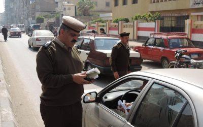 بالصور حملة لمرور الدقهلية تضبط خلالها 871 مخالفة