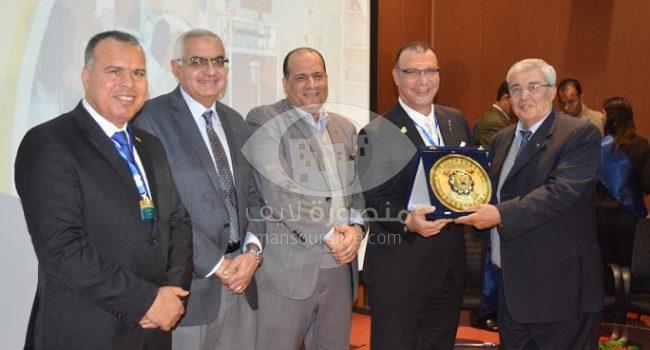 افتتاح فعاليات مؤتمر الرياضة بين العلوم والتكنولوجيا بجامعة المنصورة