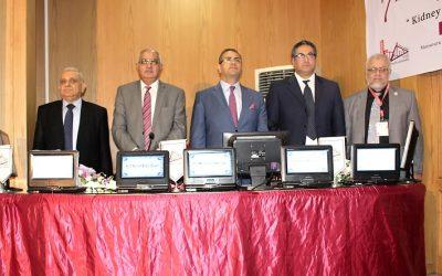 افتتاح فعاليات المؤتمر الدولى السابع لوحدة أمراض الكلى بجامعة المنصورة