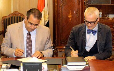 رئيس جامعة المنصورة يوقع تجديد اتفاقية التعاون مع جامعة روما دورفرجاتا بايطاليا