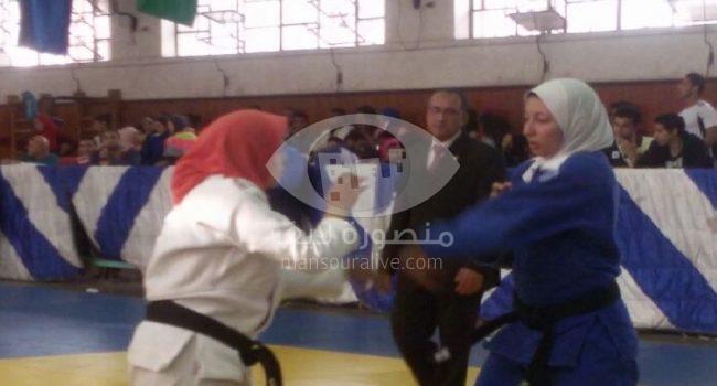 منتخب الجودو بجامعة المنصورة يحقق المركز الثالث ببطولة الجامعات المصرية