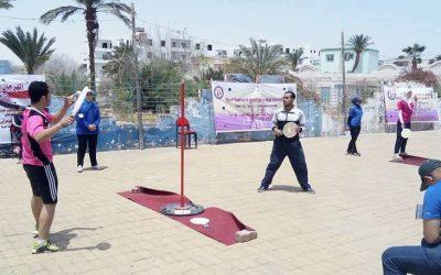 جامعة المنصورة تحصل على المركز الخامس فى البطولة العربية لكرة السرعة