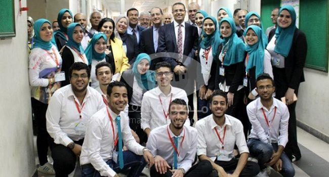 افتتاح ملتقى شباب الباحثين السابع بعلوم المنصورة