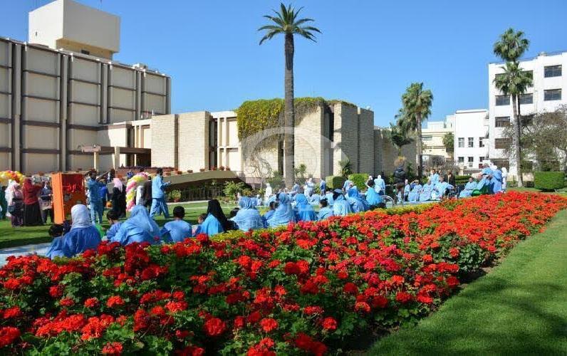 مركز الدكتور غنيم بجامعة المنصورة يحتفل بأعياد الربيع وشم النسيم