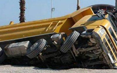 مصرع عامل فى حادث تصادم على طريق المنصورة طناح