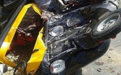 مصرع سائق توك توك فى حادث على طريق طلخا بلقاس