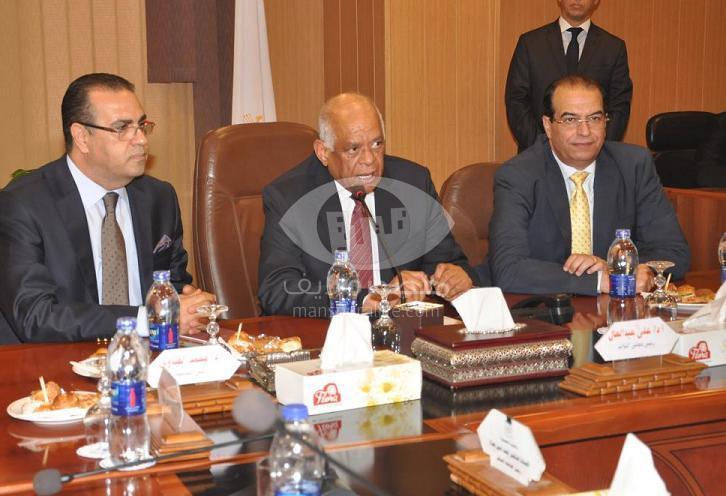 جامعة المنصورة تستقبل رئيس مجلس النواب