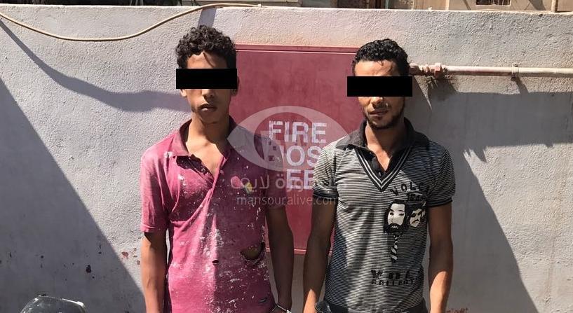 القبض على عاطلين بميت غمر بعد سرقتهما 4 دراجات نارية