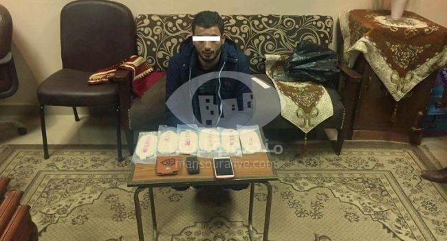 ضبط 6 طرب حشيش بحوزة تاجر مخدرات بنبروه
