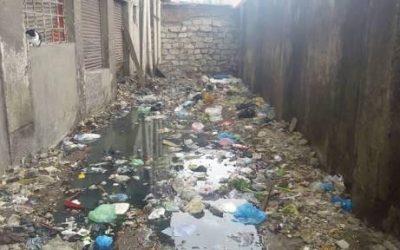 شوارع طنيخ تغرق فى الصرف الصحى